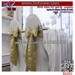 Party Supply Wedding Ornament Chair Ribbon Satin Chair Cover Sashes Wedding Decoration (B6001)