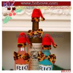Christmas Gift Holiday Gifts Wine Bottle Bow Tie Xmas Party House Decoration Party Supply Mini Tie (B8333)