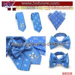 Holiday Gift Silk Necktie Skinny Tie Best Christmas Party Holiday Gift (B8008)