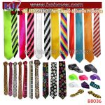 Neckwear Polyester Tie Plain Stripe Satin Tie Necktie Party Decoration Christmas Gift Novelty Gifts (B8036)