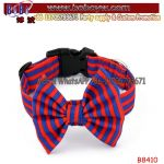 Printing Canvas Pet Collars with Hand Sewn Dog Bowties Pet Product Pet Supply (B8410)